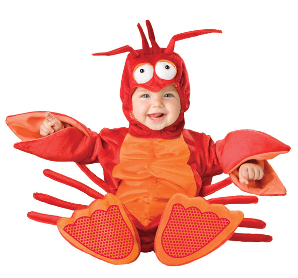 6025 Little Lobster Baby And Toddler Costume large